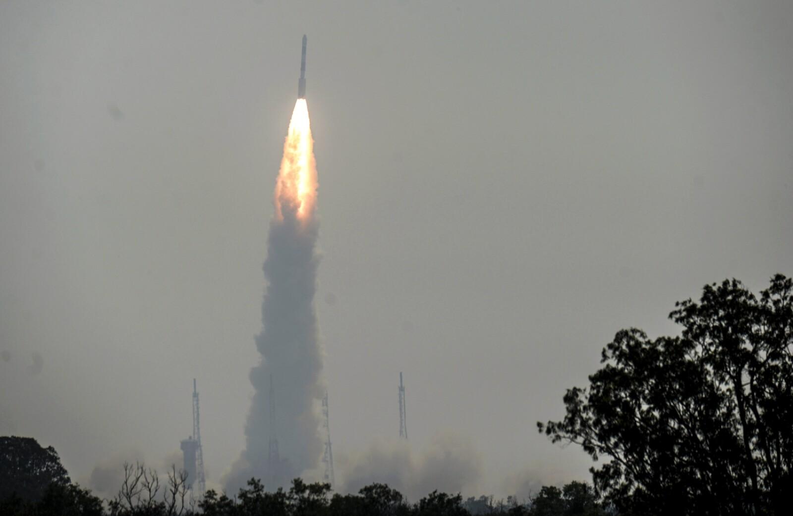 INDIA-SPACE-SATELLITE