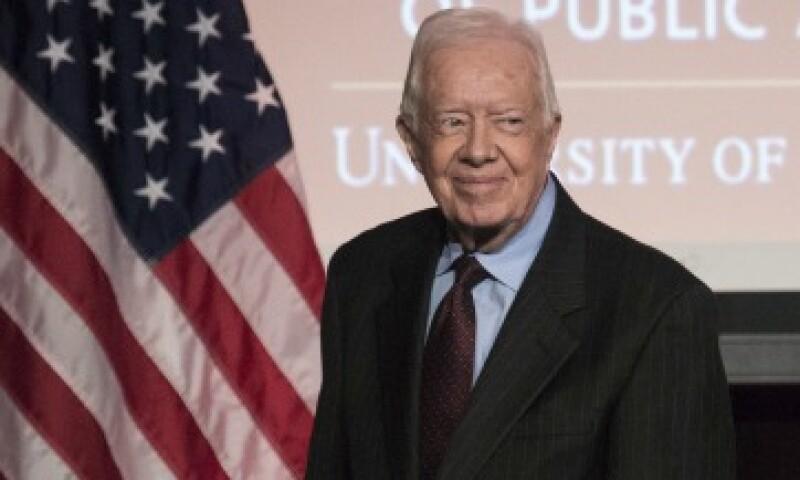 Carter fue presidente de EU de 1977 a 1981 (Foto: Reuters/Archivo)