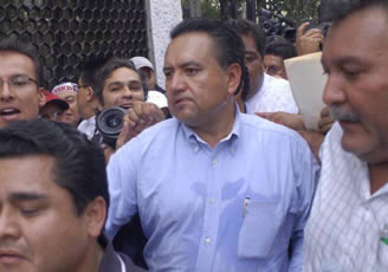 Esparza acudió a la Secretaría de Gobernmación. (Foto: Notimex)