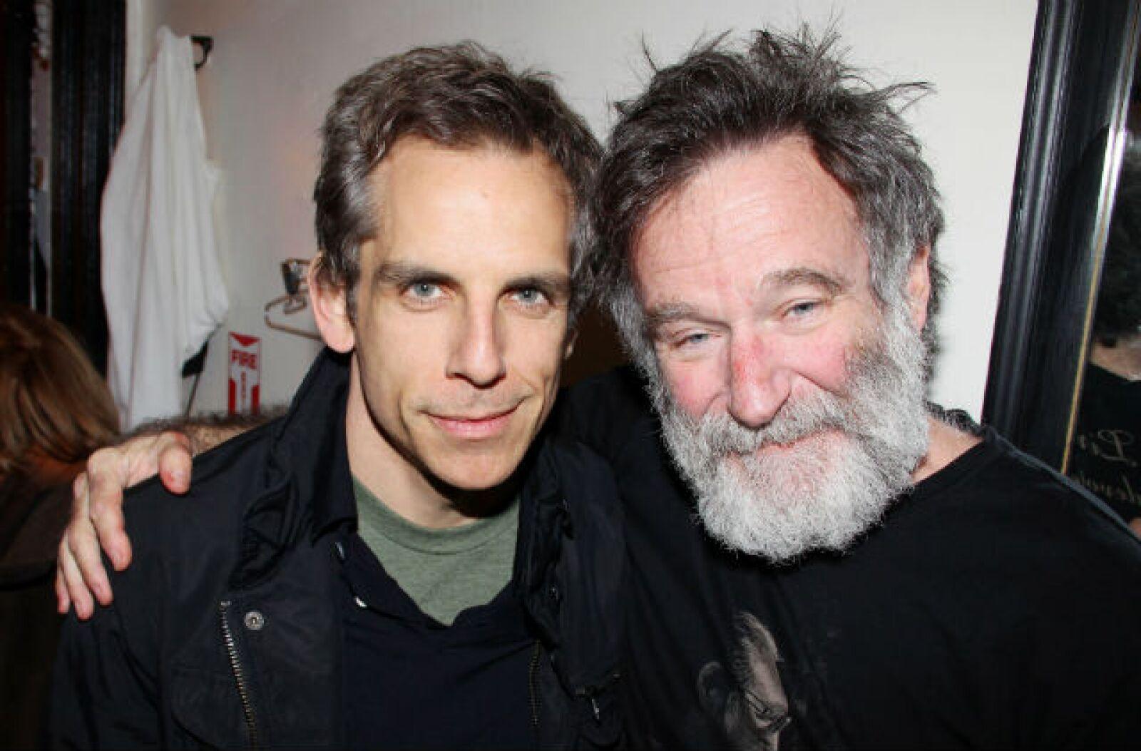 Robin y Ben Stiller se volvieron cercanos gracias a las cintas de Una noche en el museo.