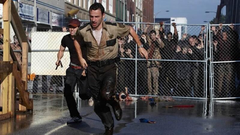 The Walking Dead escena escapatoria