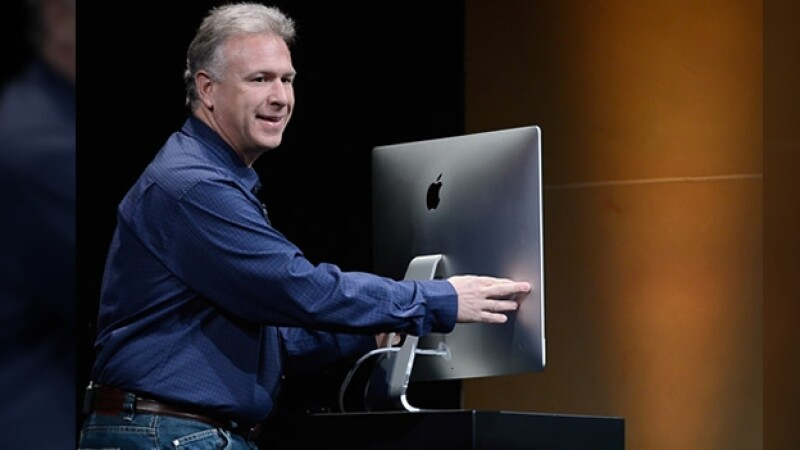 Phill Schiller iMac 23 octubre 2012