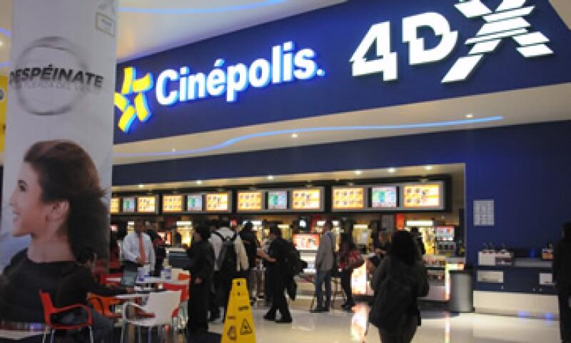 Cinépolis adquirió en 2015 tres empresas. (Foto: Cuartoscuro )