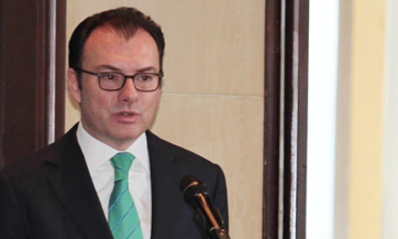 El secretario de Hacienda admite ver un panorama complicado para la economía mexicana. (Foto: Notimex )