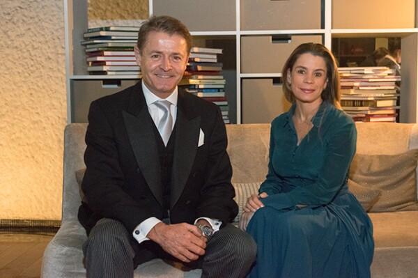 Gary Williams y Montserrat Barros