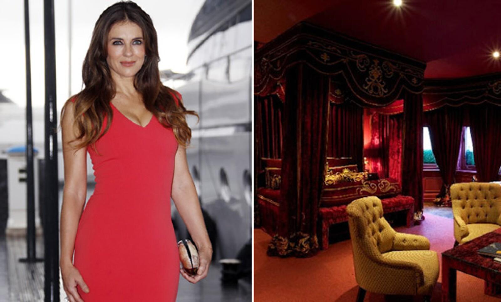 Nada menos se esperaba de Elizabeth Hurley que el No. 11 Cadogan Gardens, un exclusivo hotel boutique en Londres que va de acuerdo al 100 con la personalidad de Liz.