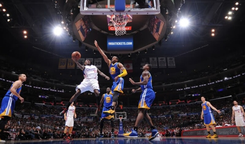 Clippers Warriors playoffs