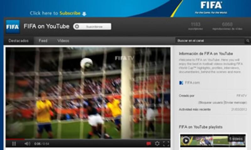 El canal de FIFA en Youtube arrancó con cinco videos del Mundial del 2010. (Foto: De FIFA)