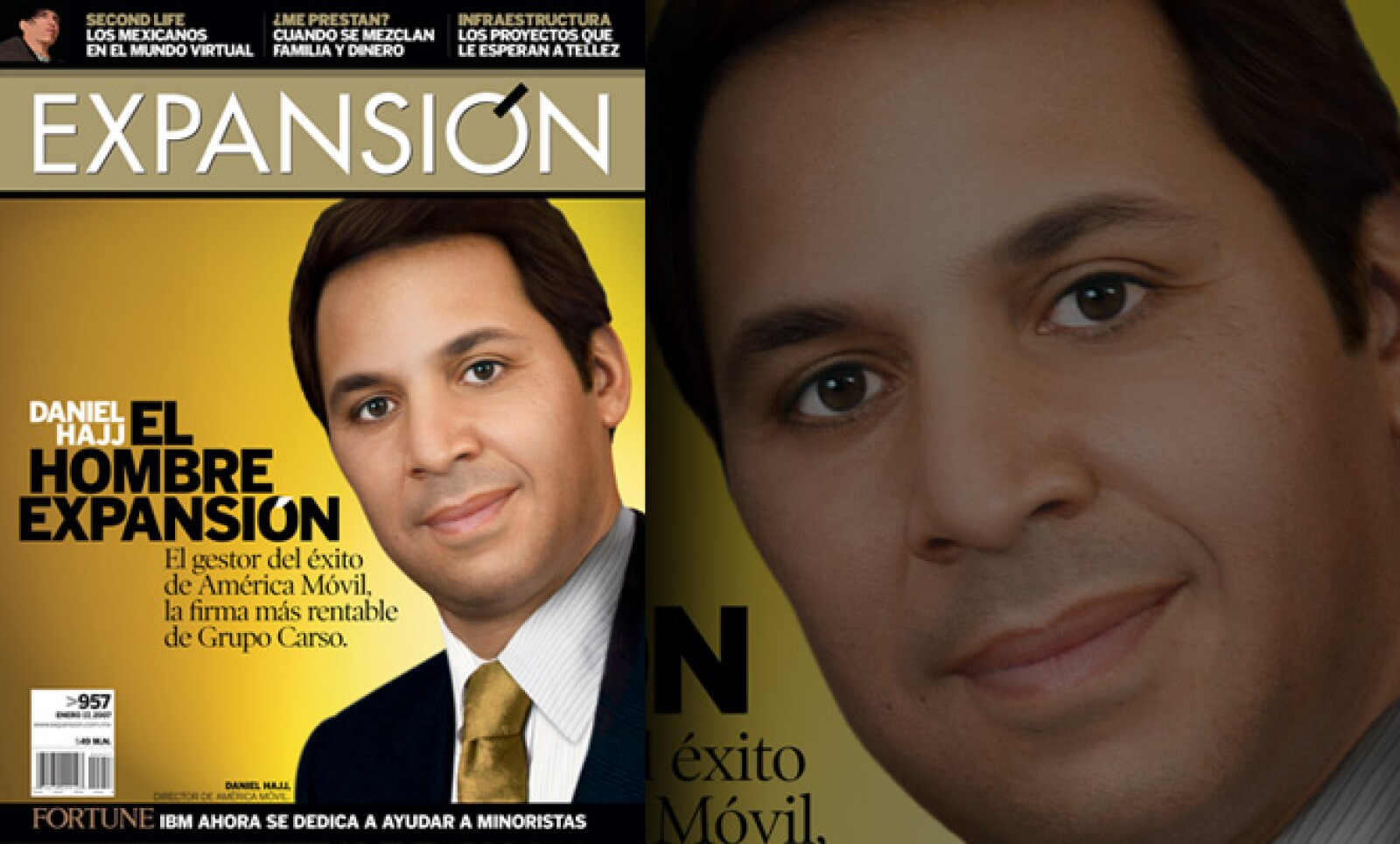 Fue el Hombre Expansión 2006. El yerno del empresario Carlos Slim demostró que era algo más eso. Como CEO de América Móvil convirtió a la firma en la más rentable de Grupo Carso y le dio un sólido crecimiento.