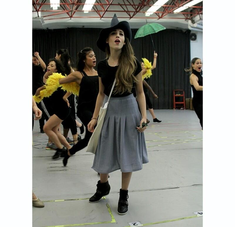 Describieron como `impresionante´ la actuación de Danna en `Wicked´.