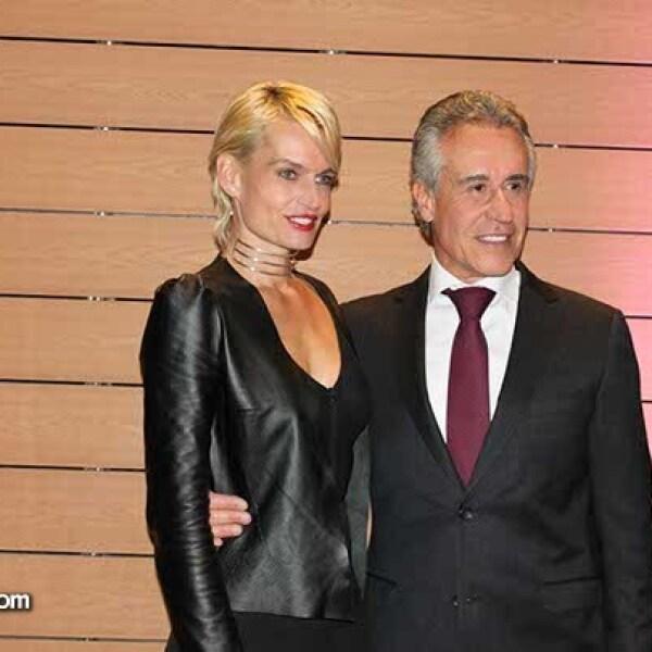 Luisa Sáenz y Rogelio Hans