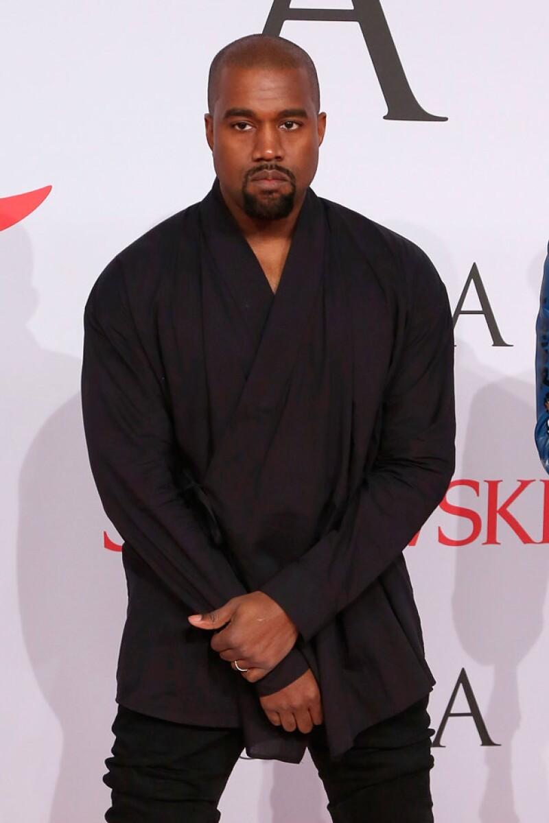 Kanye es conocido por ser bastante malhumorado y temperamental.