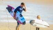 Chris y Tristan Hemsworth