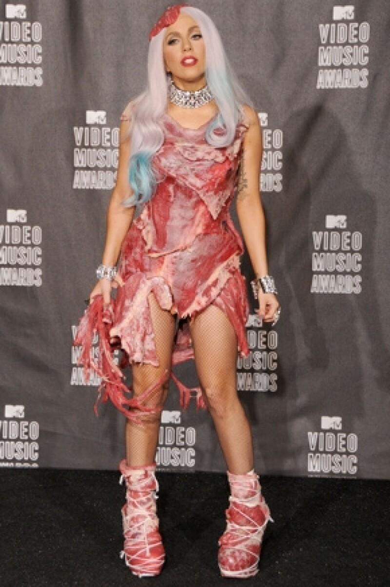 Uno de los trajes más famosos de Gaga.