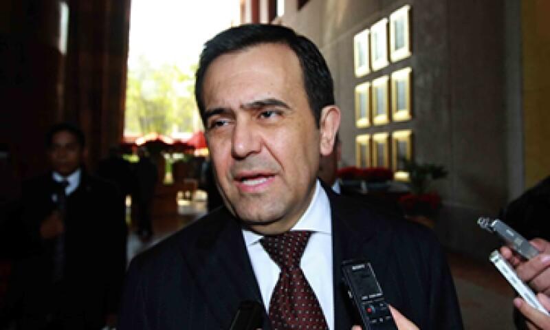 El secretario de Economía, Ildefonso Guajardo Villarreal, dijo que ha dialogado con el sector empresarial sobre los efectos del proyecto Dragon Mart. (Foto: Notimex)