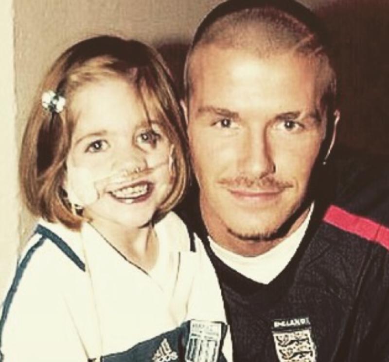 El ex futbolista publicó un emotivo mensaje por la muerte de Kirsty Howard, una niña que significó mucho en su carrera.