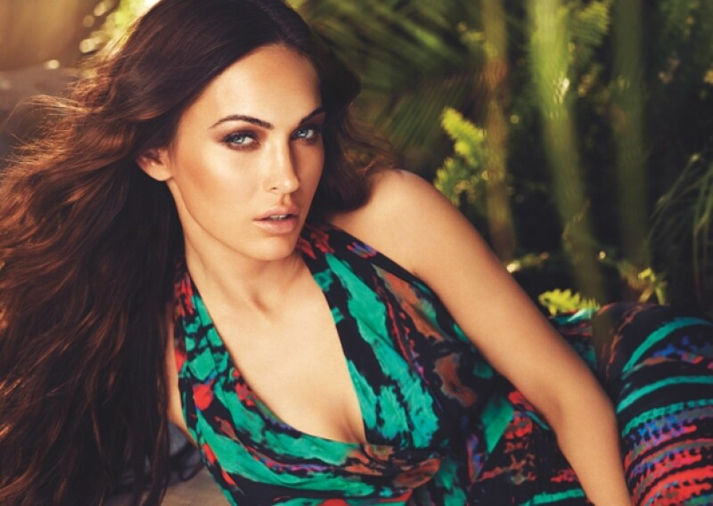 """La actriz que está esperando a su segundo bebé es la nueva imagen de la fragancia """"Instinct"""" de Avon. Megan, muy sensual, posó con sus miradas más sexys para la campaña que se estrenará en otoño."""