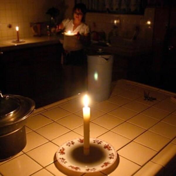 apagon, vela, electricidad, oscuridad