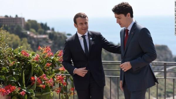 Trudeau – Macron: el nuevo 'bromance' de la política