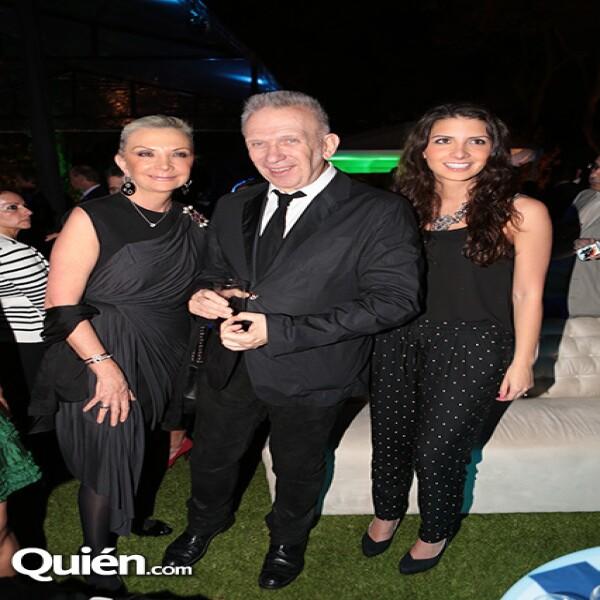 Gina Diez Barroso,Jean Paul Gaultier,Gina Moreno Valle