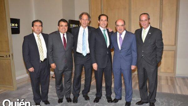 Moisés Buendía,Roberto Verástegui,Alejandro Finkler,Enrique Espinosa,Luis Télles y Fernando Pérez.