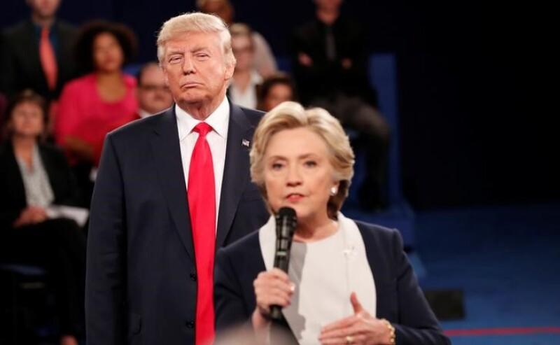 Un peso menos para Clinton