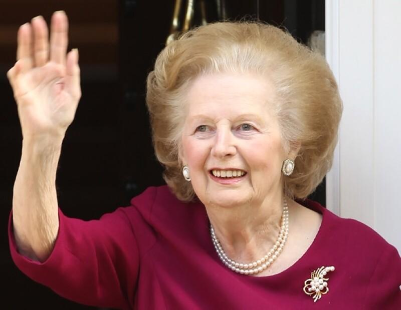 La ex primera ministra se retiró de la vida pública en 2002.