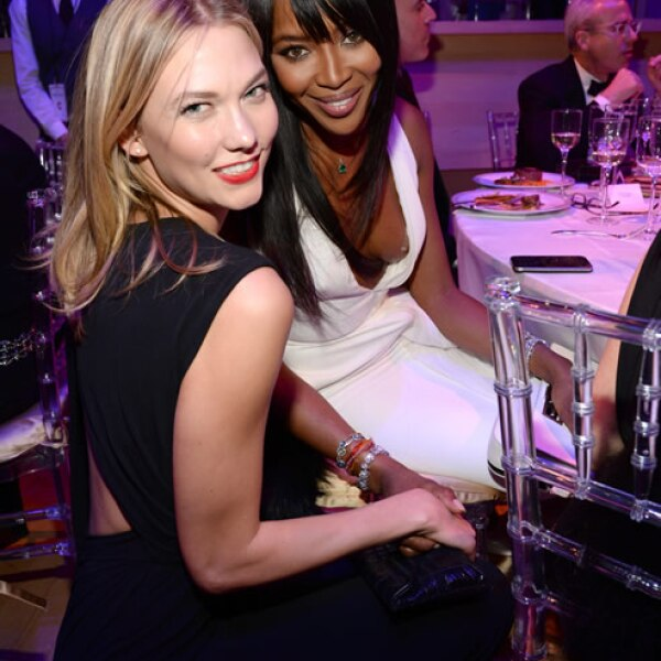 Karlie Kloss y Naomi Campbell