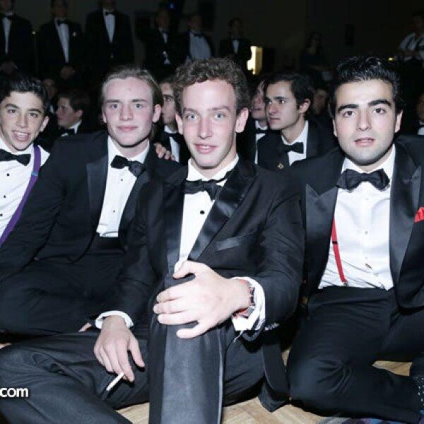 Thomas Pietrini,Emiliano Rivera Torres,Francisco Puente y Ernesto Schroeder