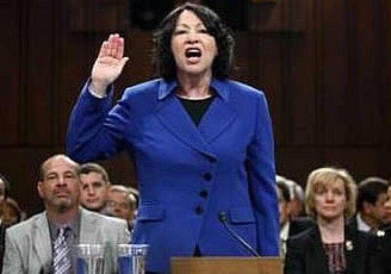 Sonia Sotomayor sería la primera hispana en ocupar el cargo. (Foto: Reuters)