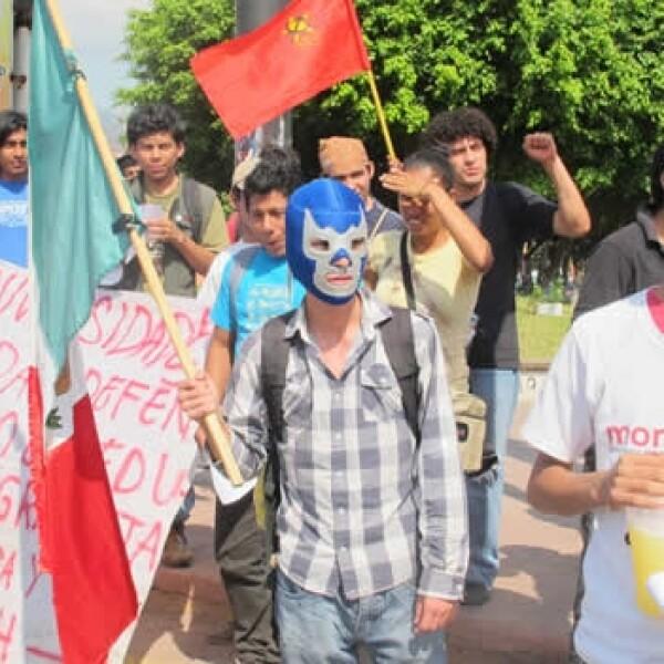 protestas contra enrique peña nieto