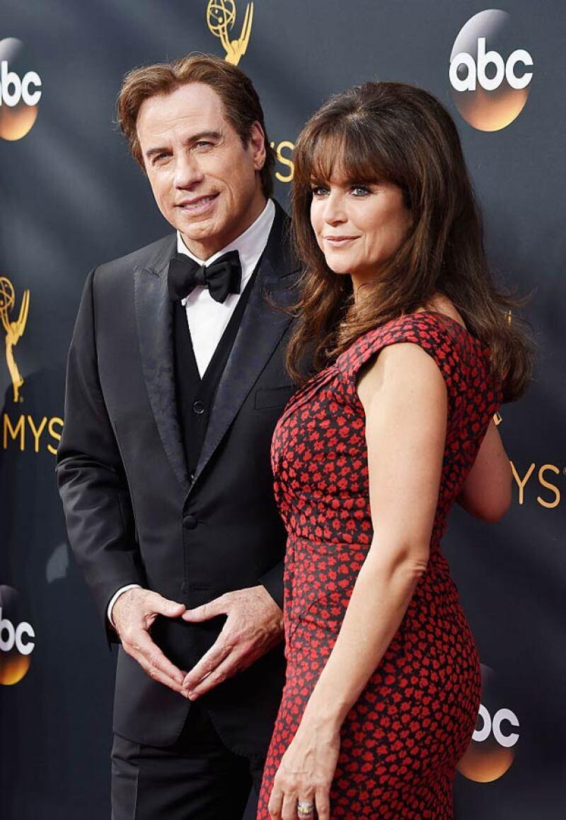 Como todos los años, la alfombra roja de los Emmy estuvo llena de enamorados y estos fueron los love birds que robaron la atención.