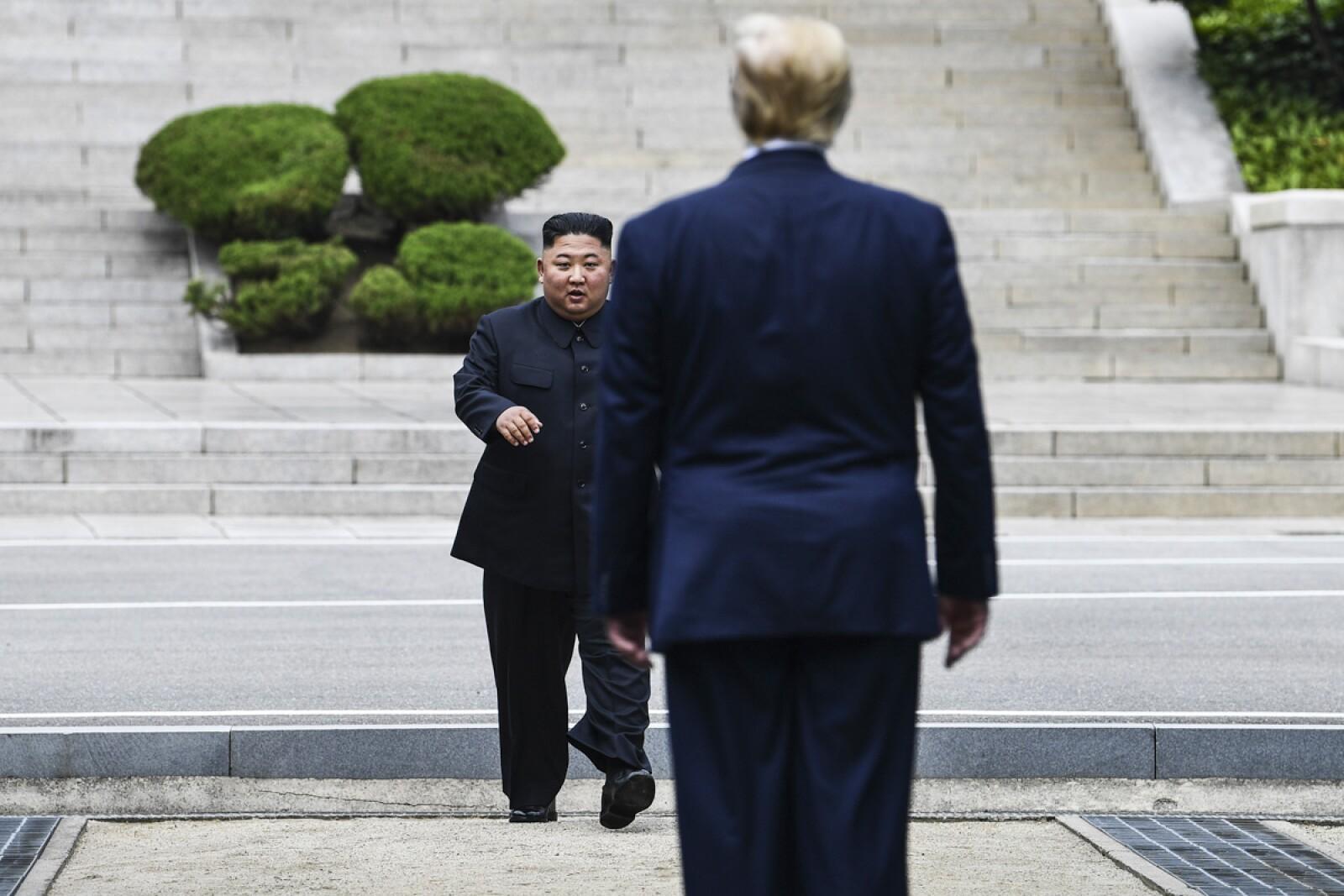 Diplomacia Trump-Joung Un