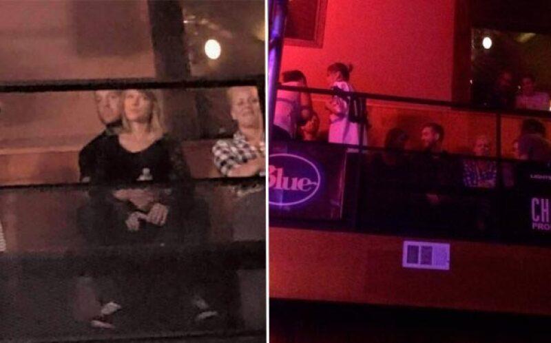 La noche de este jueves la atractiva pareja acudió al concierto de la banda Haim en The Troubadour, en West Hollywood,  donde fueron vistos muy románticos.