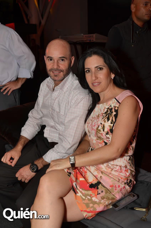 Ernesto y Adriana Rubio
