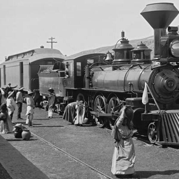 La entrada del ferrocarril a México fue uno de los grandes pasos del presidente Porfirio Díaz hacia una cultura progresista y cosmopolita.