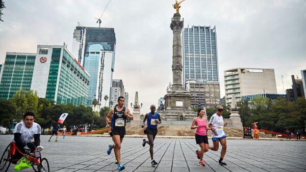 Maratón Ciudad de México trampa