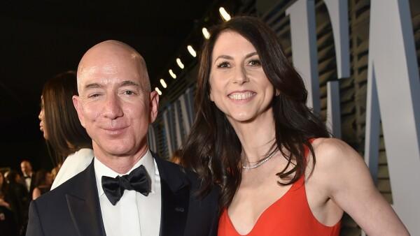 Jeff y MacKenzie Bezos, 2018