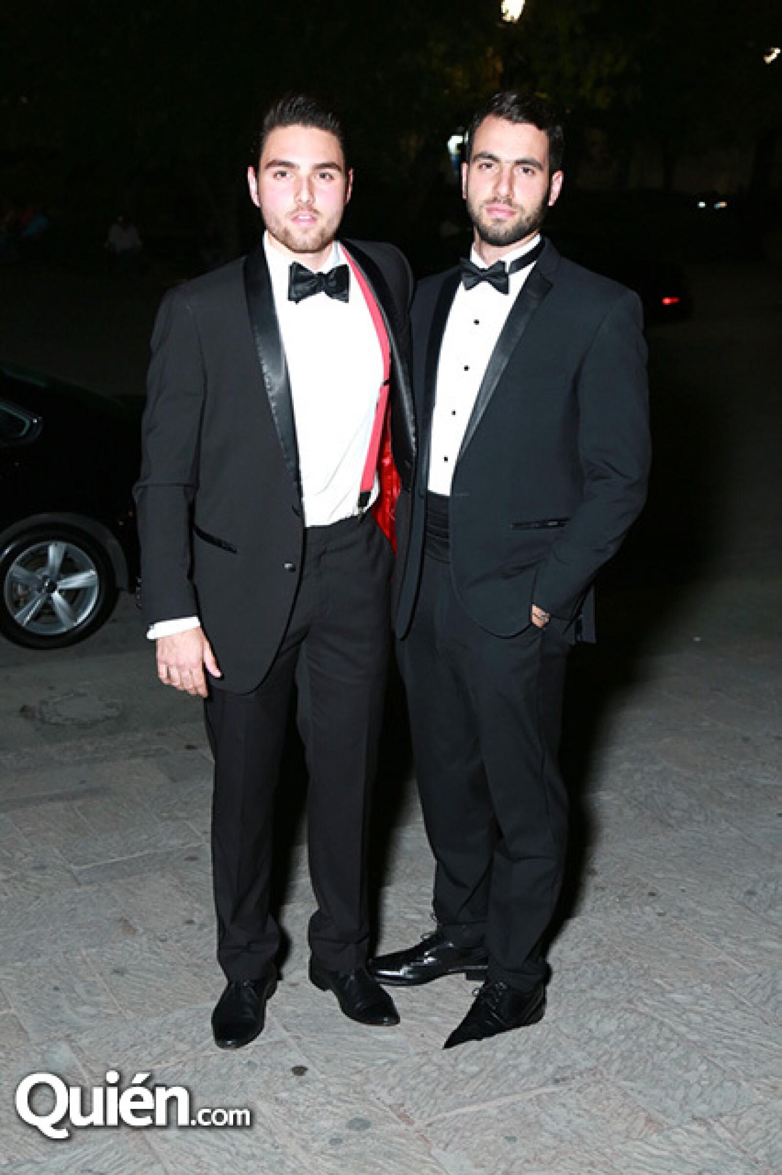 Javier Bracho y Gabriel Marcos.
