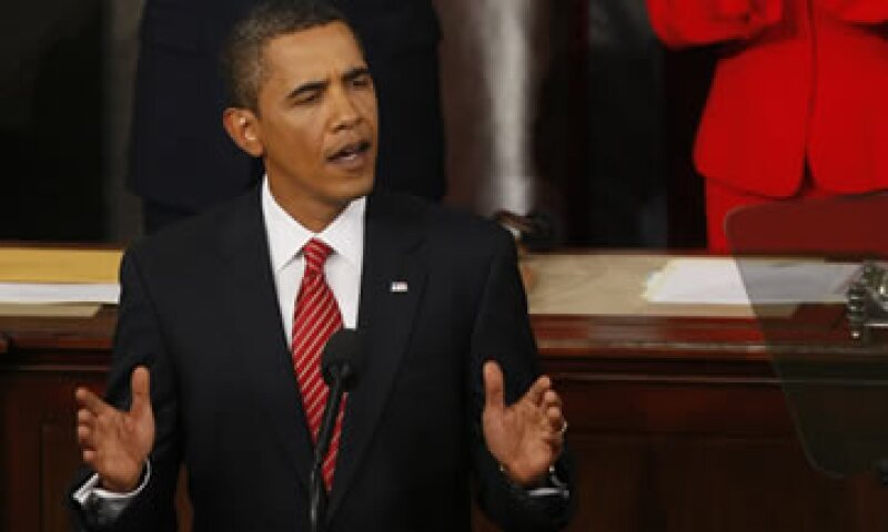 Barack Obama buscará mejorar la trayectoria del déficit presupuestal en EU. (Foto: AP)