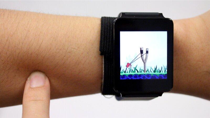 Este invento de la Universidad Carnegie Mellon quiere hacer de tu brazo una pantalla táctil.