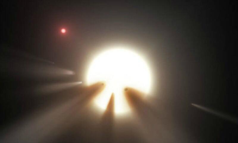 Los extraños cambios de luz podrían ser(Foto: NASA/ Cortesía)