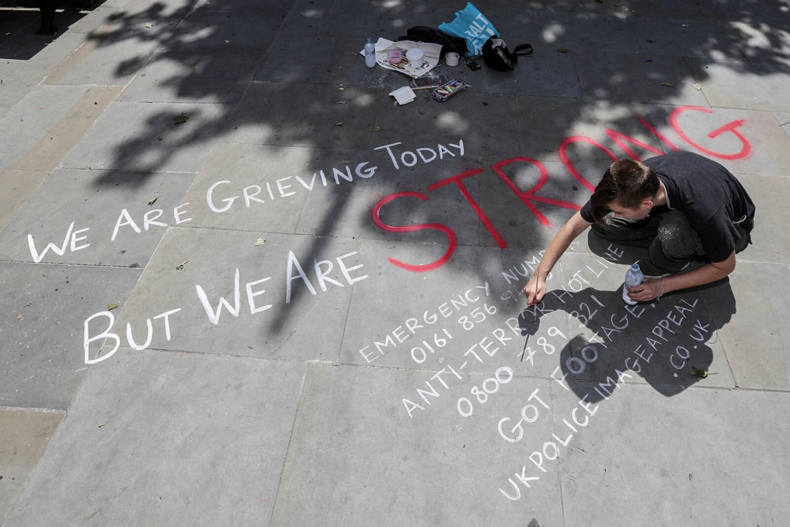 'Somos fuertes'
