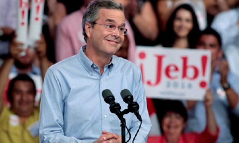 EU puede alcanzar un aumento económico de 4% por año, dijo Jeb Bush. (Foto: Reuters )