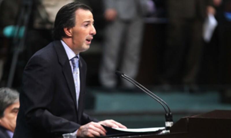 José Antonio Meade, secretario de Hacienda advirtió que el desorden en las finanzas públicas provocará bajas en empleo e inversión. (Foto: Notimex)
