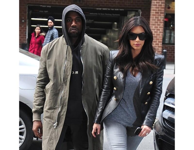 Kim y Kanye se casarán el 24 de mayo en París.