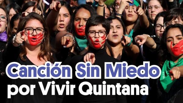 Canción sin Miedo, por Vivir Quintana