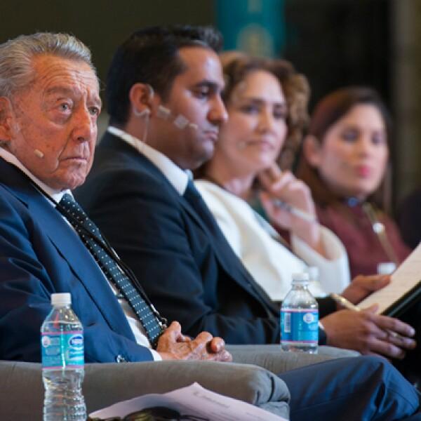 El presidente de la México Cumbre de Negocios, Miguel Alemán Velasco, inauguró la edición número 12 de este encuentro.