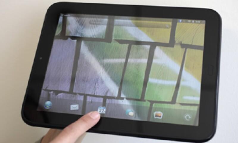 HP adquirió  a webOS tras la compra de Palm por 1,200 mdd en 2010. (Foto: AP)