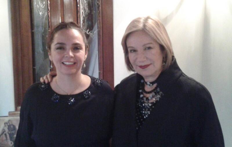 Guadalupe Loaeza y Verónica González Laporte, amigas y cómplices literarias.